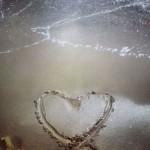 hjerteisand