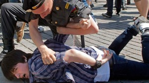 Arrestasjon i Russland