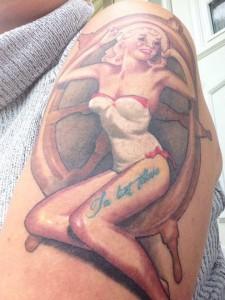 Tattoveringen Anniken tok for å minne henne om å ta livet tilbake